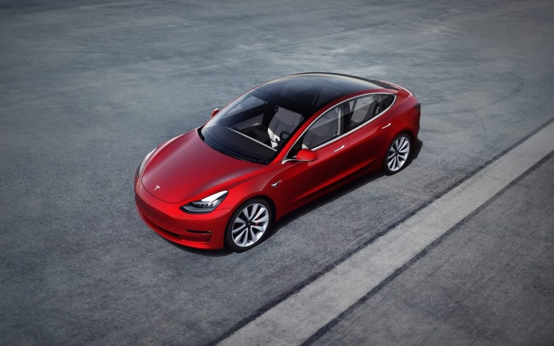 Model 3 populaire zoekterm in Google
