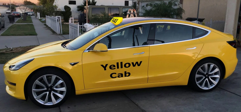 Model 3 binnenkort als taxi in NYC